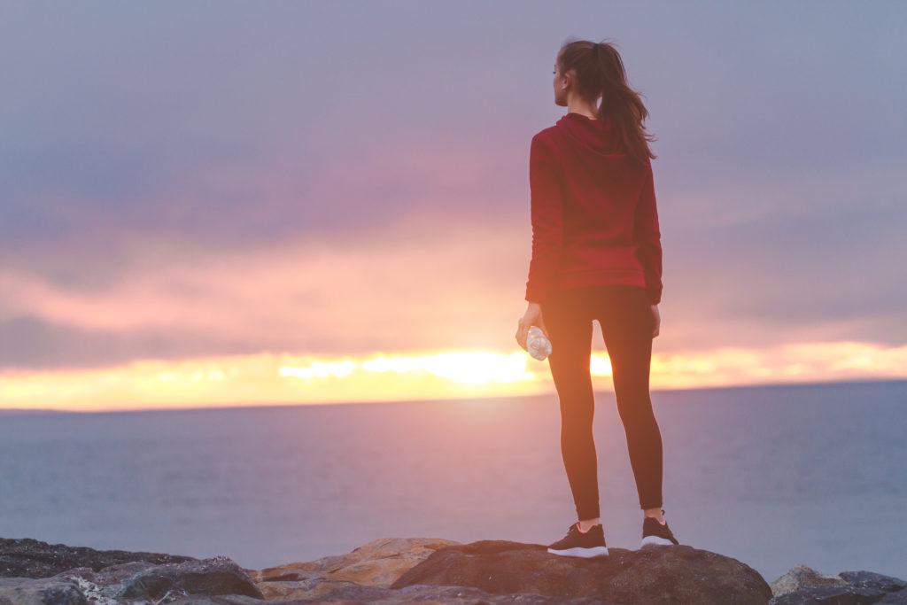 Positiv denken nach Trennung